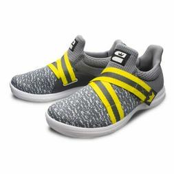Brunswick Slingshot Grey/Yellow Men's Bowling Shoes